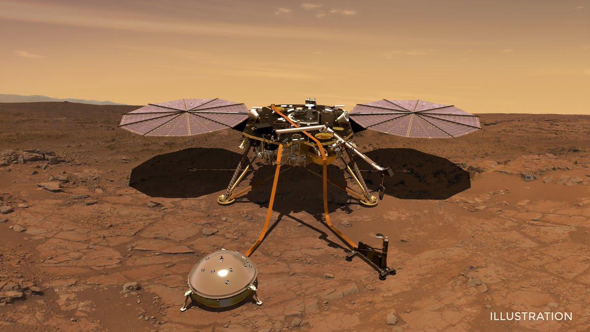 InSight lander settles into its Martian 'sandbox'