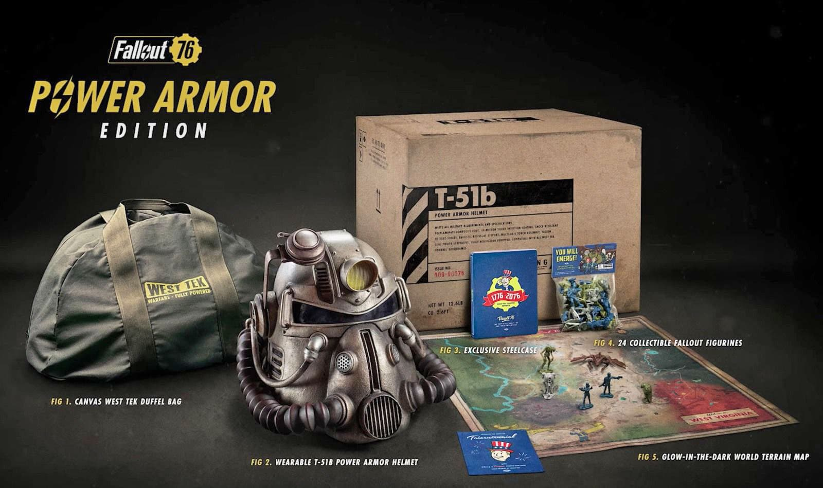 Fallout 76' Power Armor Edition buyers will get their canvas