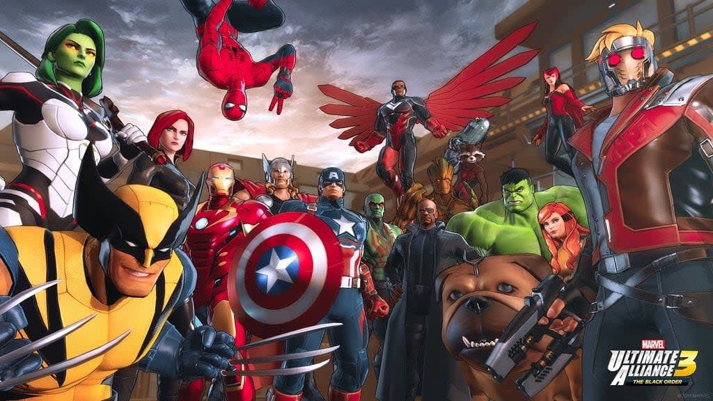 Marvel Ultimate Alliance 3: The Black Order' is a Switch exclusive