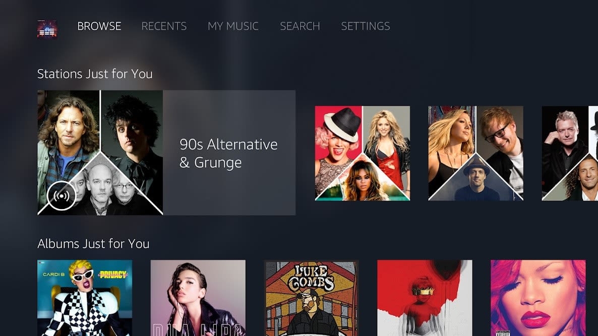 amazon music prime unlimited apk