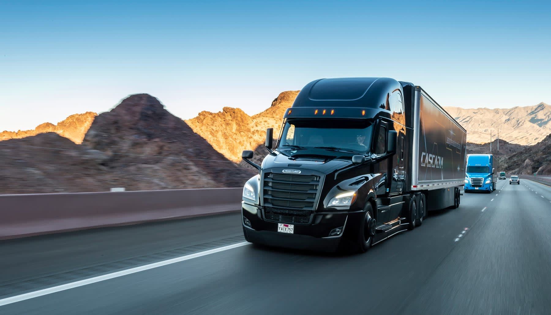 Daimler wants self-driving trucks on the roads in ten years
