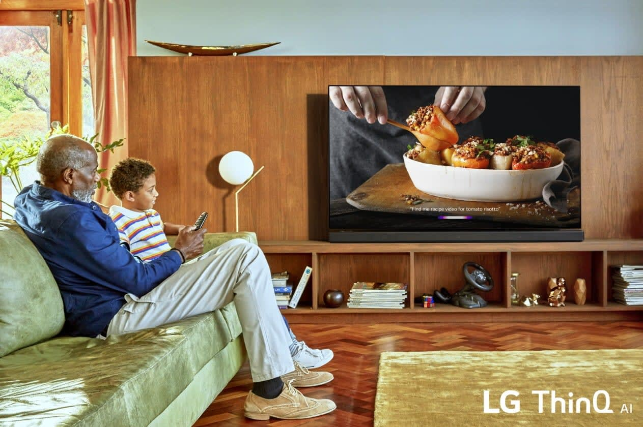 LG's 2019 TVs add HDMI 2 1 and 8K