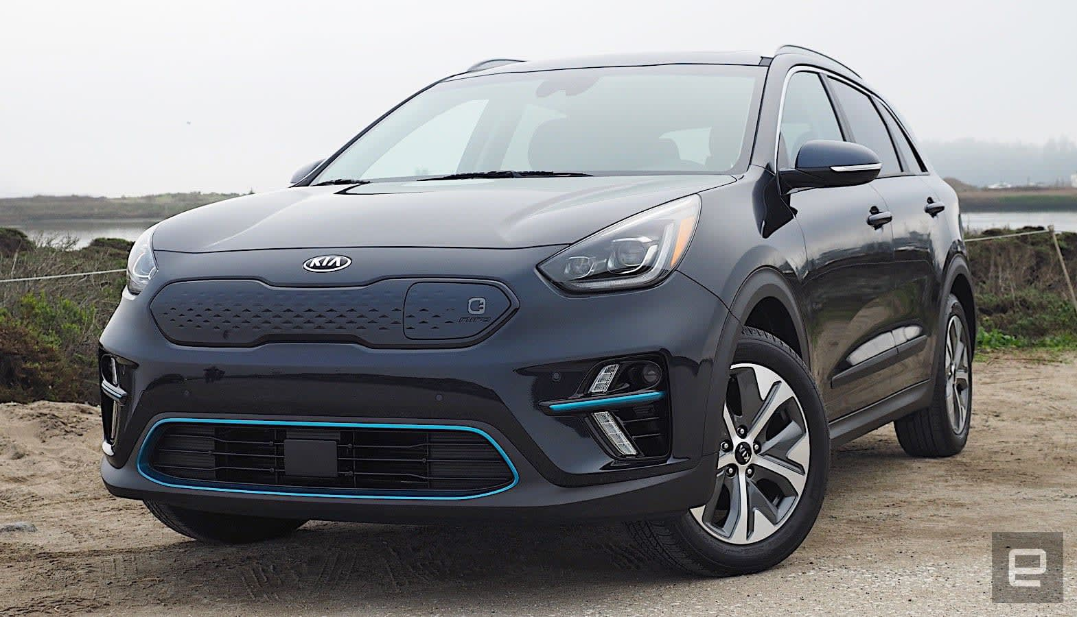 kia 39 s 2019 niro ev is an electric crossover for the people. Black Bedroom Furniture Sets. Home Design Ideas