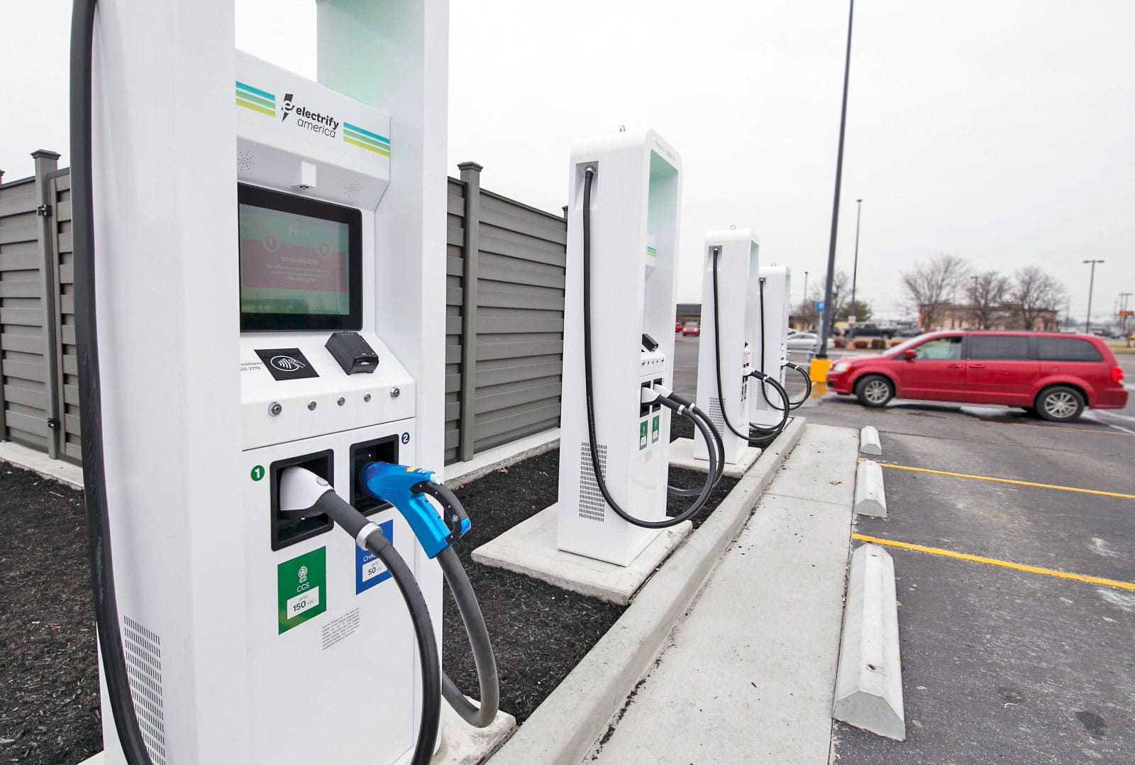 Ev Charging Stations >> Electrify America S High Powered Ev Charging Stations Are Back Online