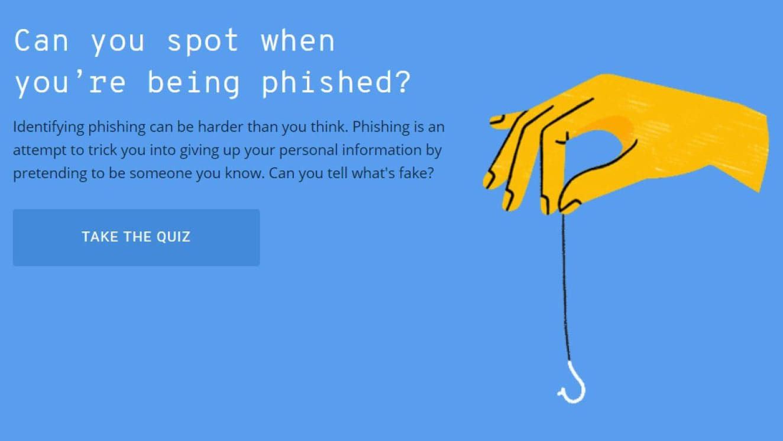 22eeaf744595 Alphabet made a quiz to help you detect phishing scams