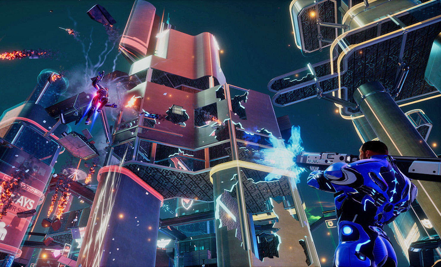 crackdown xbox one online multiplayer