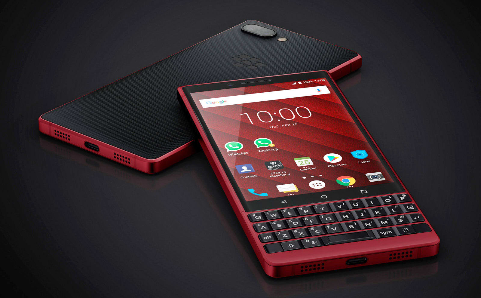 4b9f11bdfa8 BlackBerry KEY2 will be available in a souped-up red model