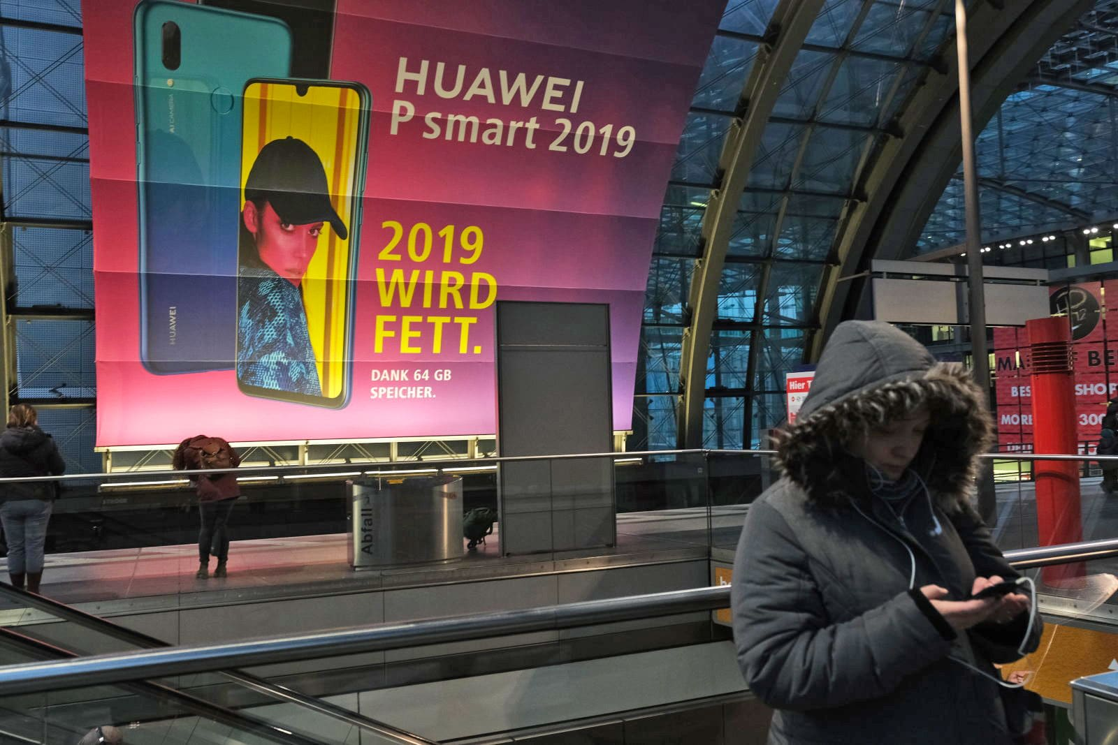 Germany may use Huawei hardware for its 5G networks