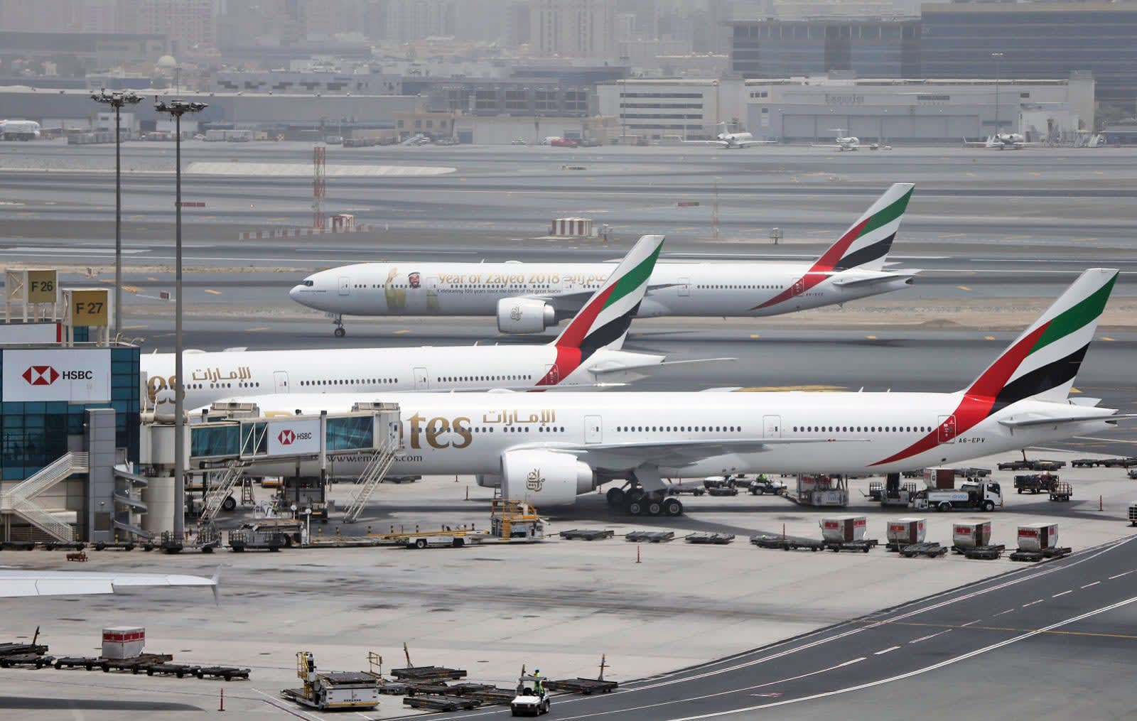Dubai Airport drone scare temporarily disrupts flights
