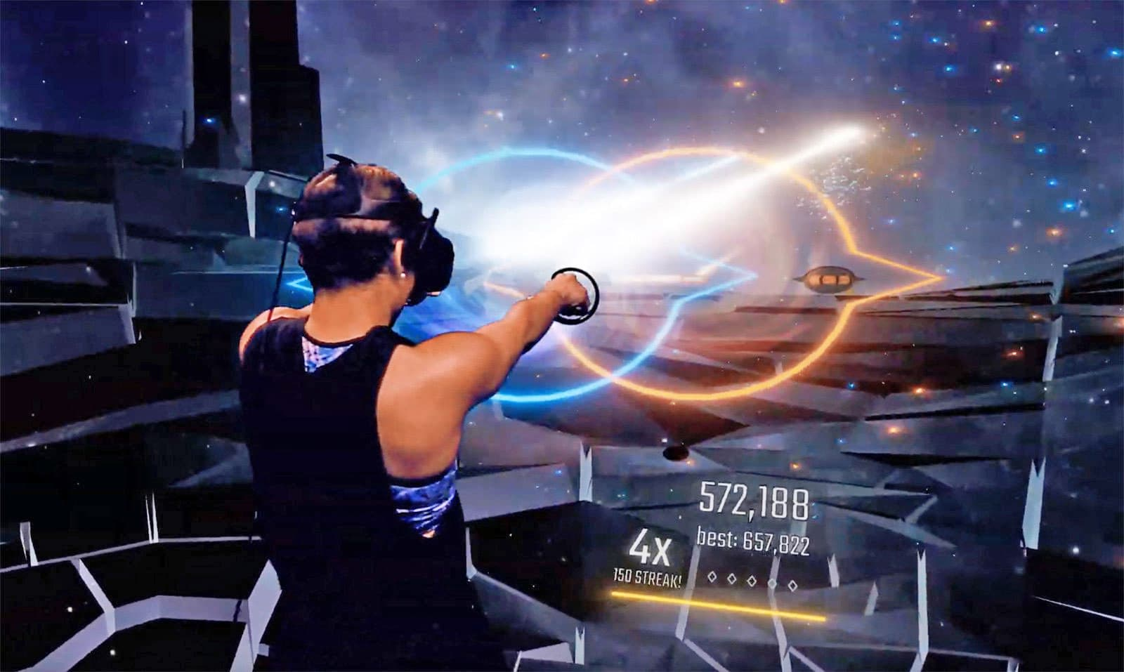 Harmonix's answer to 'Beat Saber' is a VR rhythm shooter
