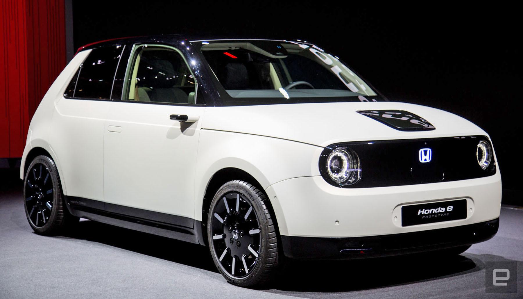 Honda >> Honda Will Open Pre Orders For Its Tiny E Prototype This Year