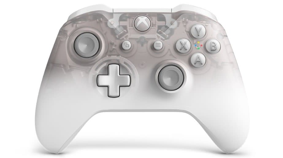Xbox One 'Phantom' controller lineup adds an option in White