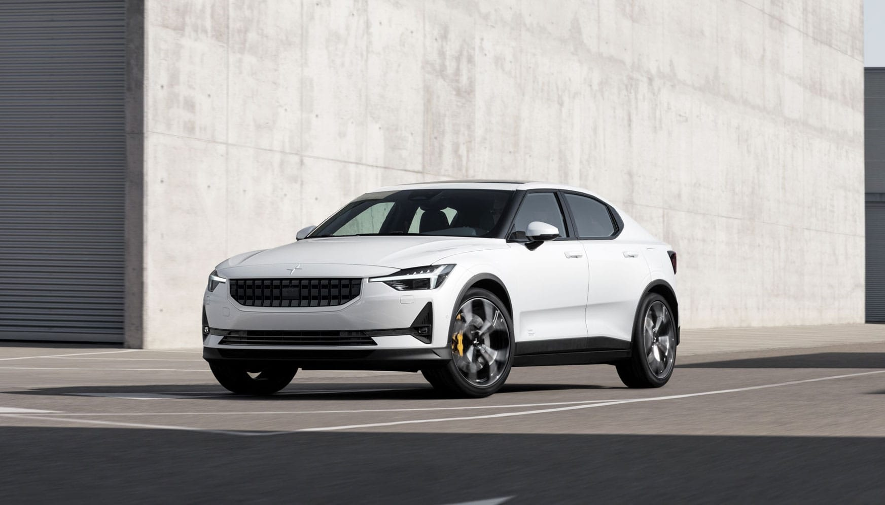 The stylish Polestar 2 takes on the Model 3 with a 275-mile