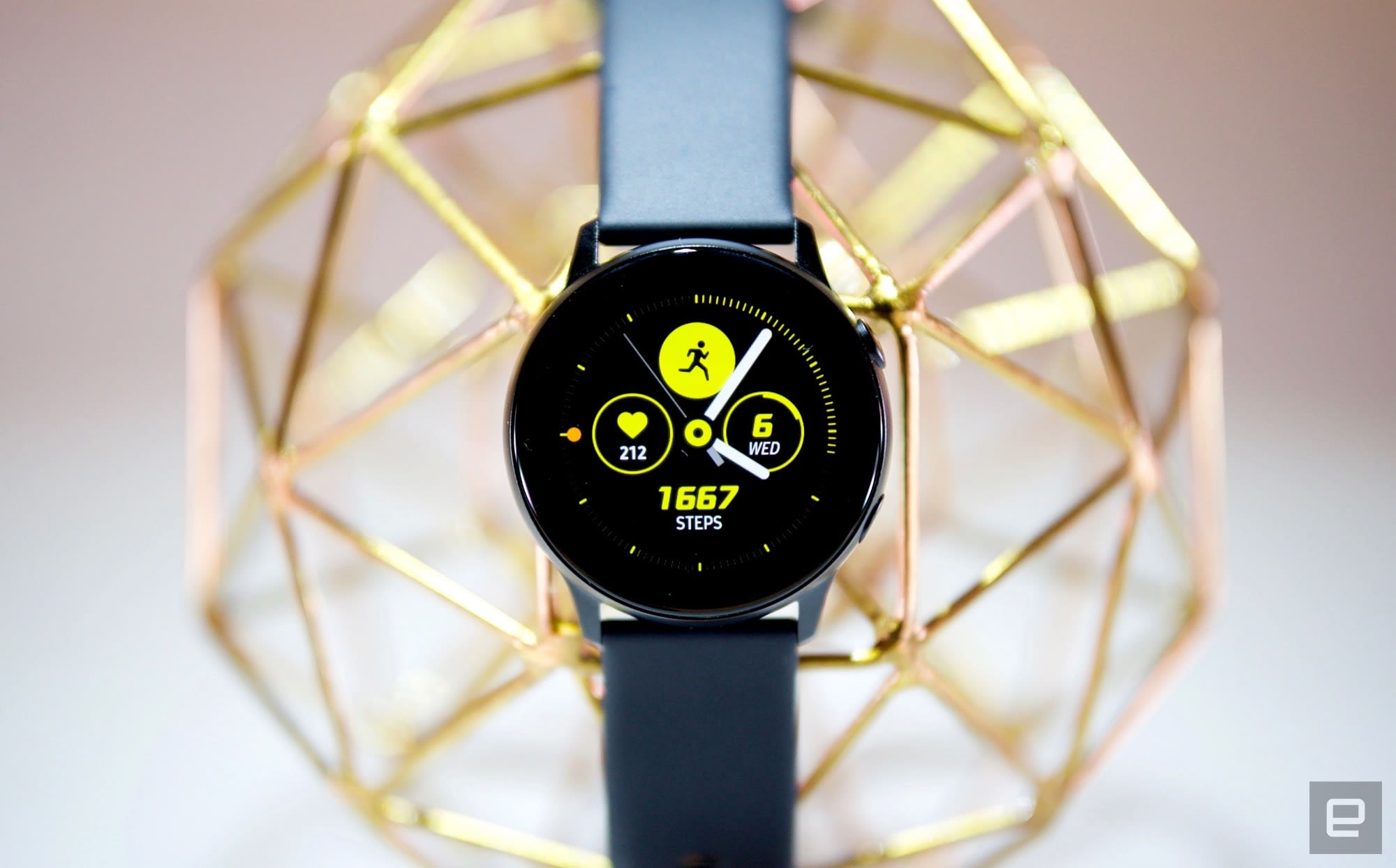 24 hours with Samsung's Galaxy Watch Active
