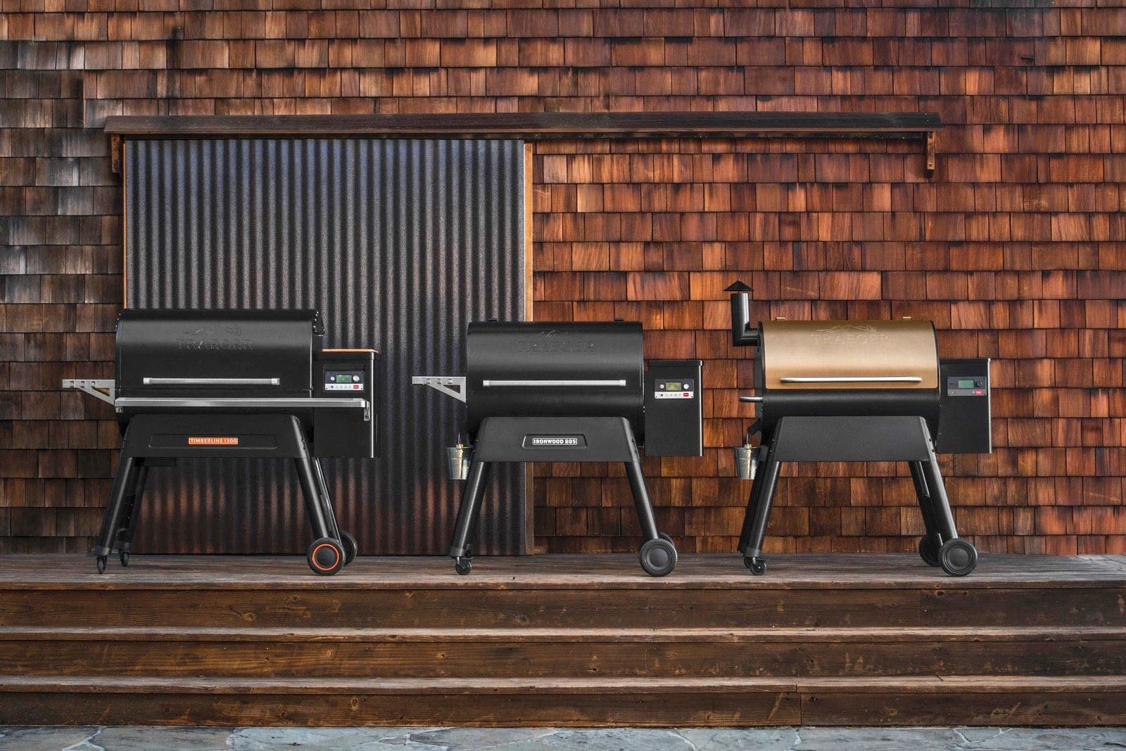 Traeger makes built-in WiFi a standard grill feature