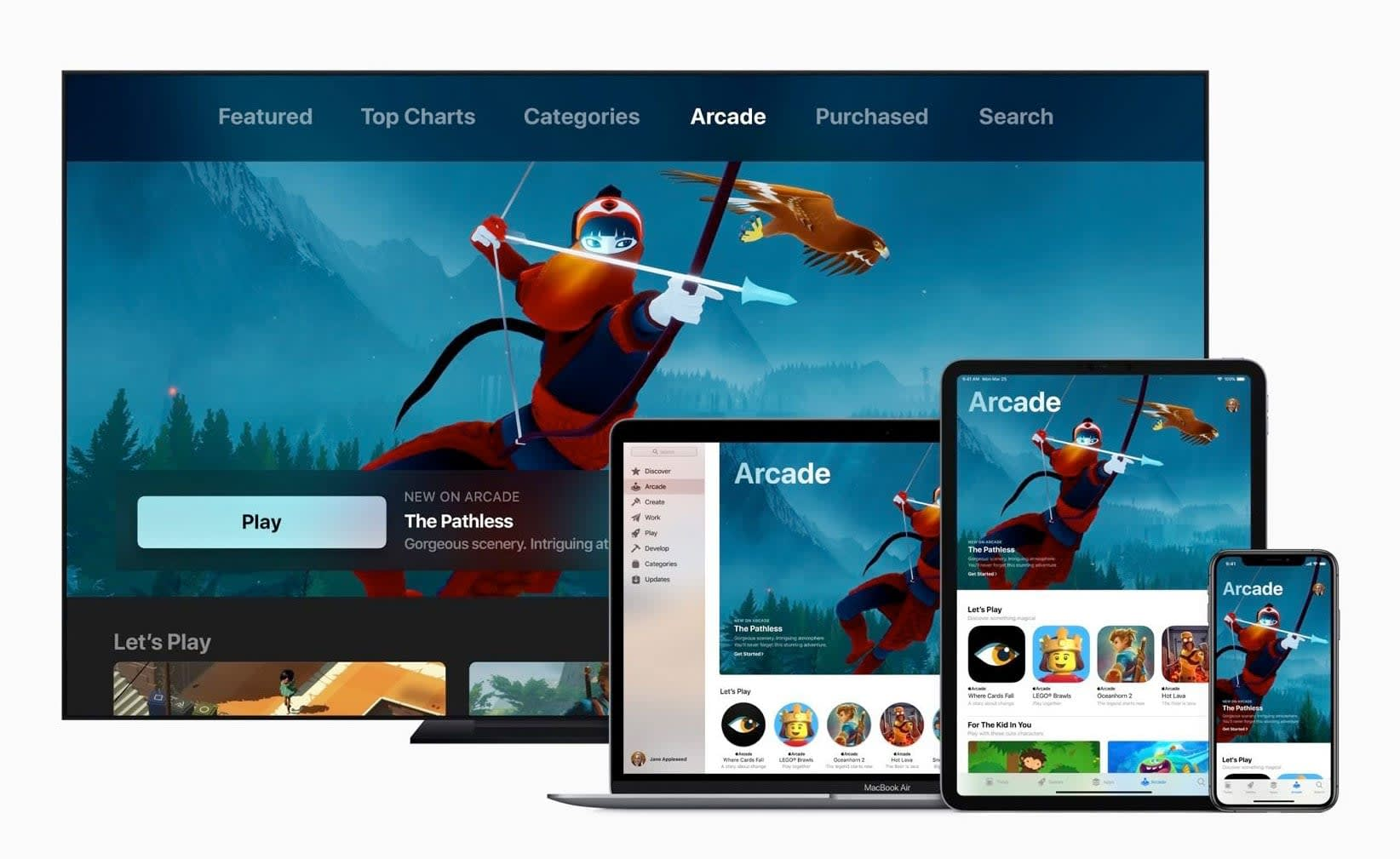 Apple Arcade is a game subscription service for iOS, Mac and Apple TV