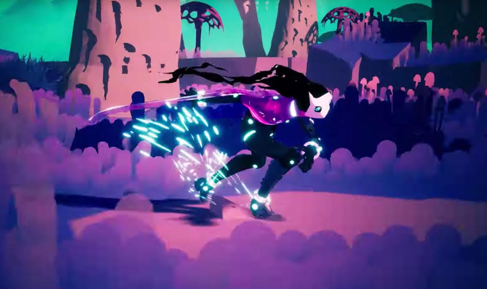 Hyper Light Drifter Devs Next Game Goes Rollerblading Across Clouds