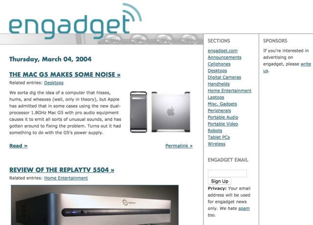 The Morning After: Engadget's 15th Birthday