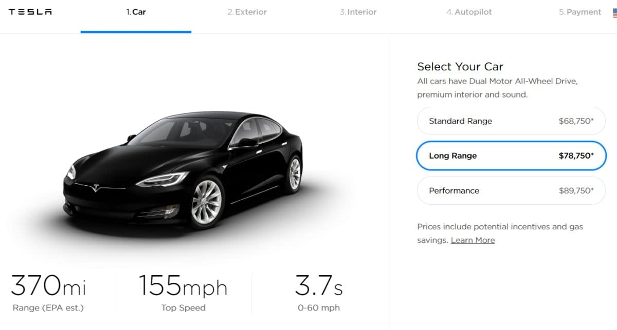 Tesla S Model S And Model X Get New Motors With More Range