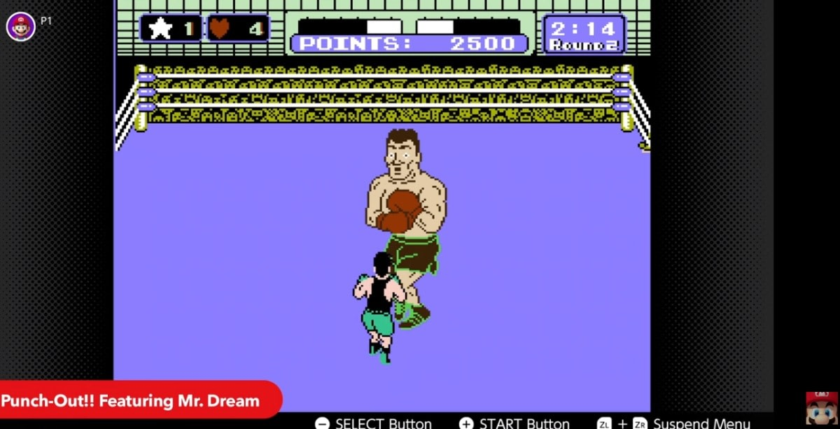 Switch Online adds 'Punch-Out' and 'Super Mario Bros : The