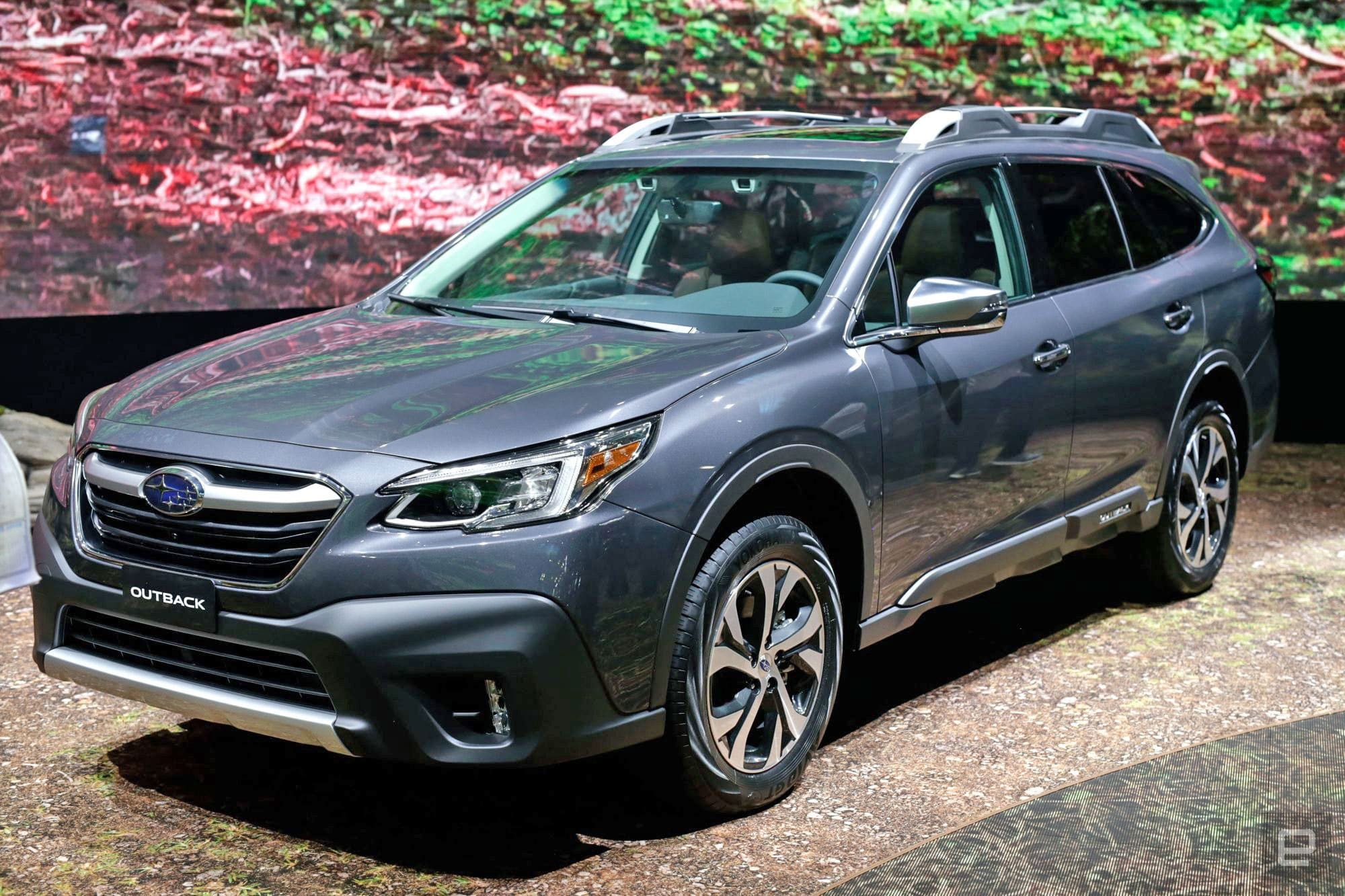 With Its 2020 Outback Subaru Bets On Turbo Engines And Big