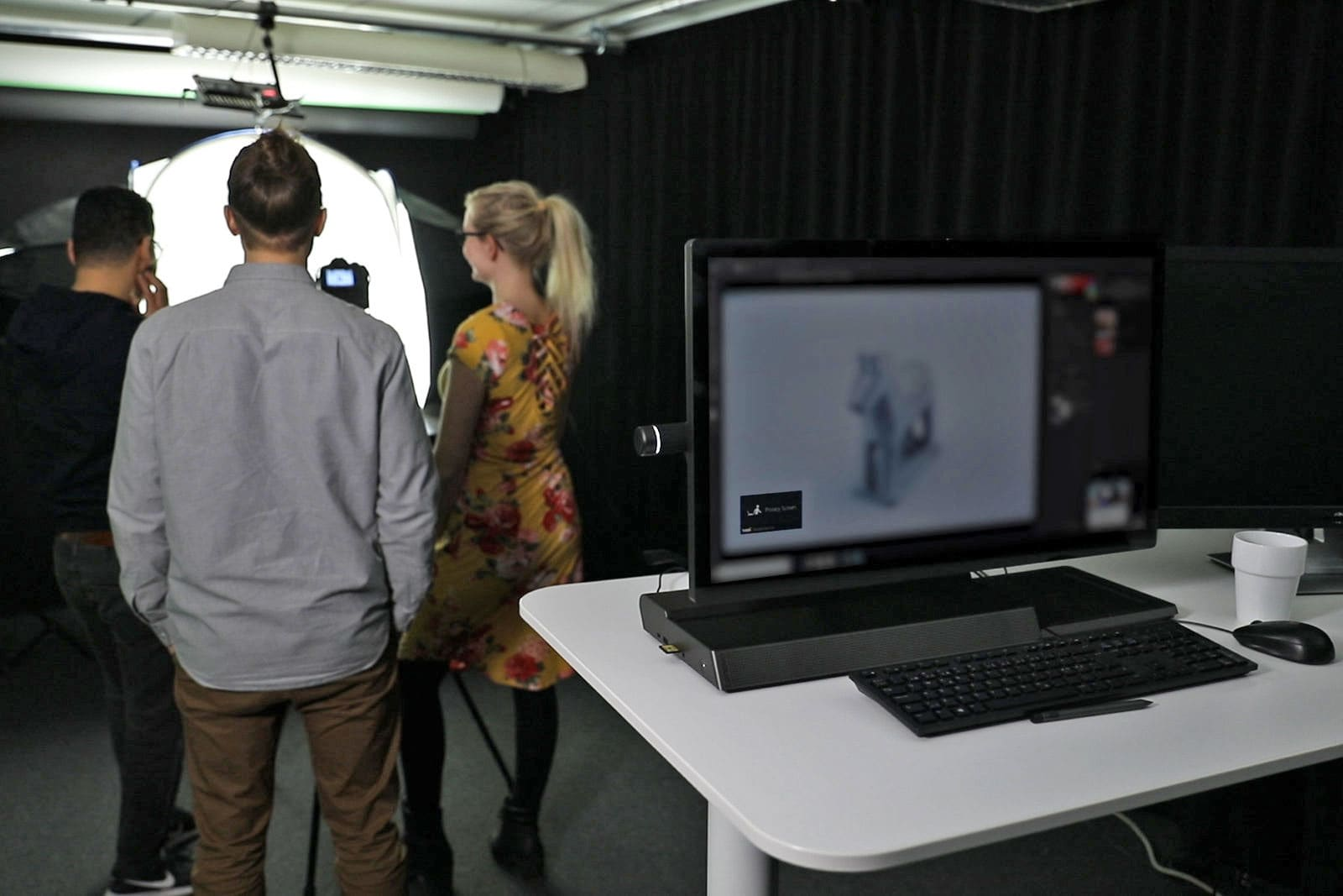 Tobii uses PC cameras to keep people from peeking at your