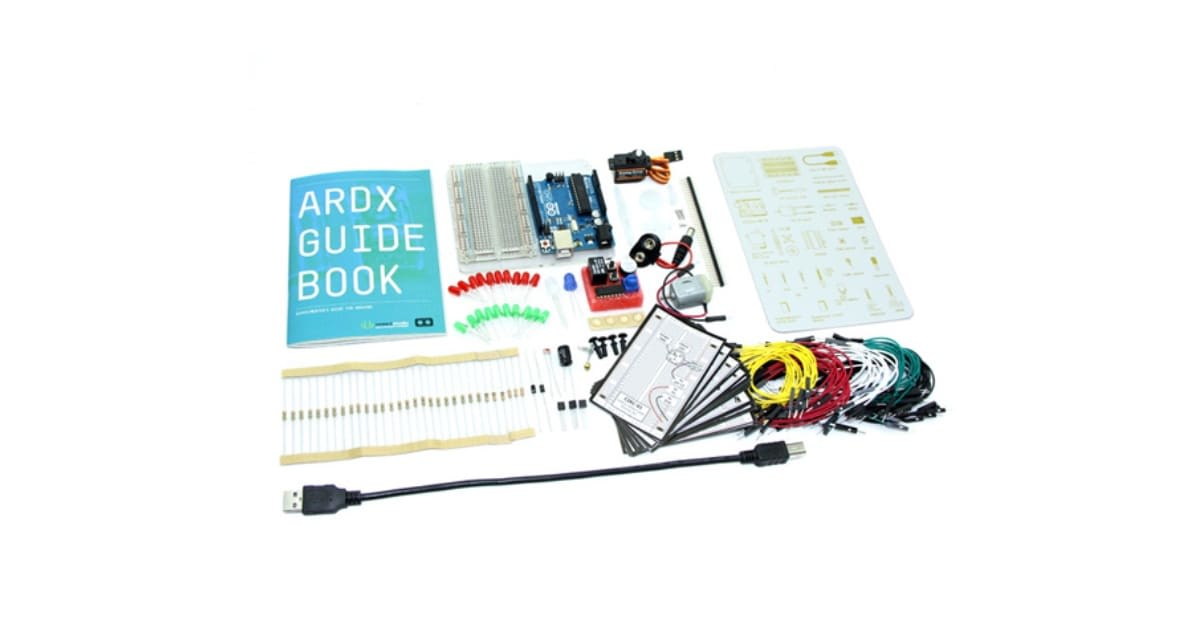 Build your own electronics with this $90 Arduino kit
