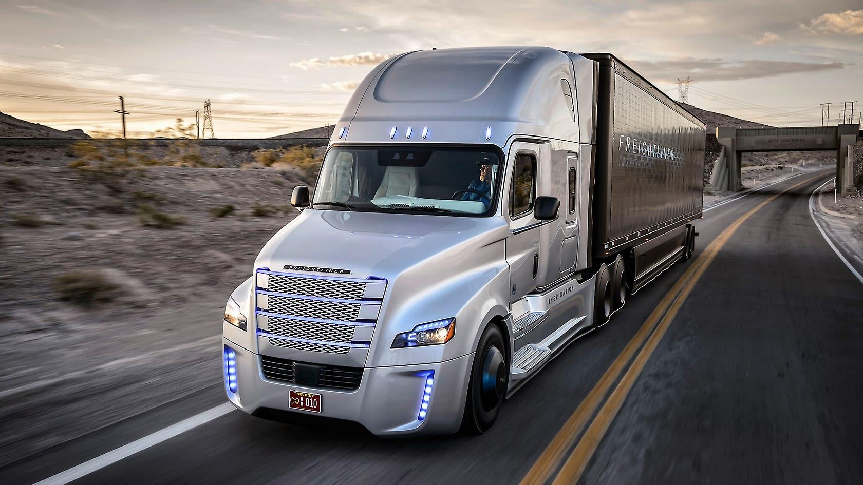 Resultado de imagen para autonomous trucks