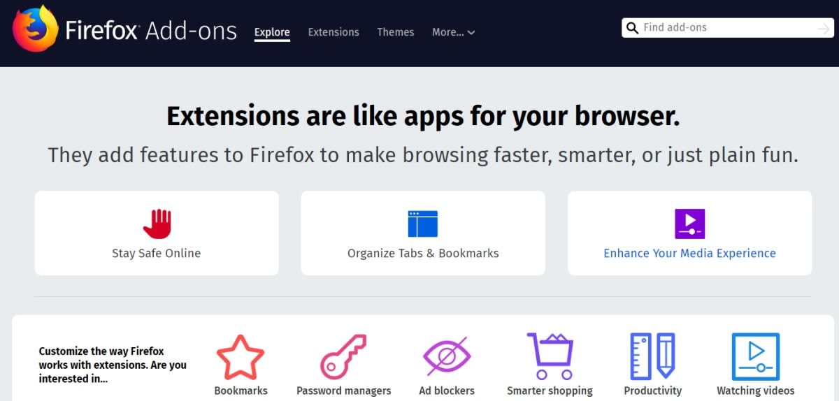 Firefox disabled all add-ons because a certificate expired