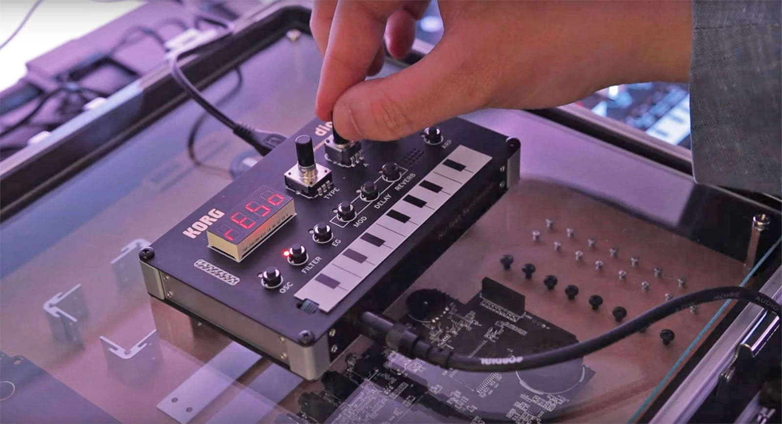 Korg is working on a new DIY digital synth, no soldering