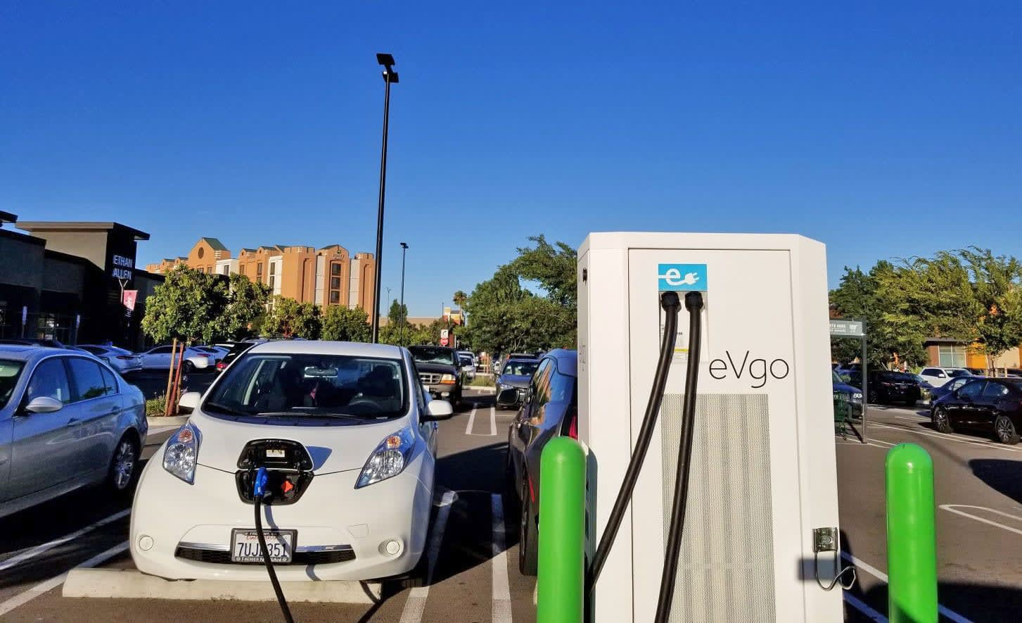 Evgo Charging Stations >> Evgo Is Installing Fast Chargers At Chevron Filling Stations