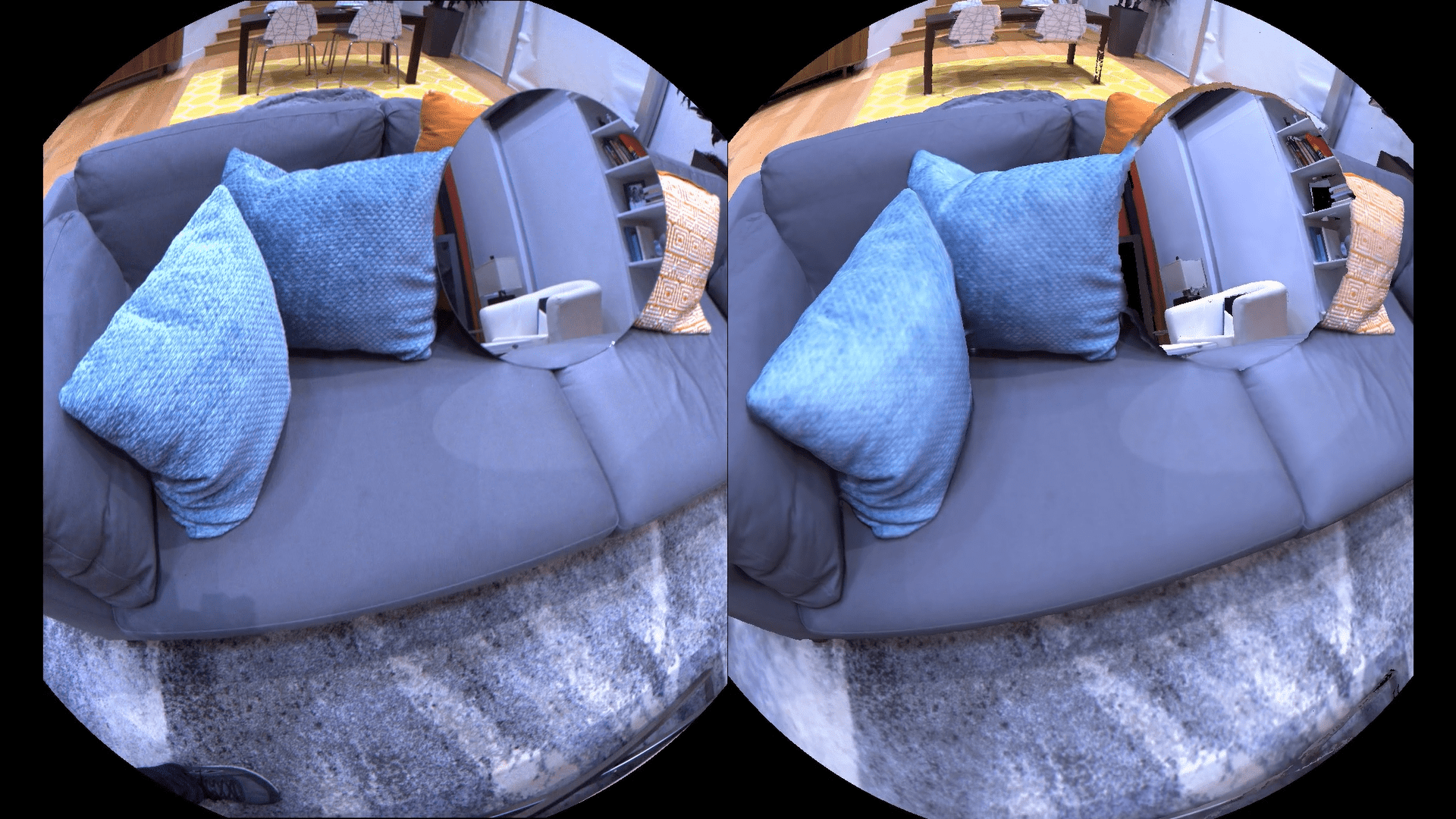 Facebook researchers are building virtual spaces to improve AI and AR
