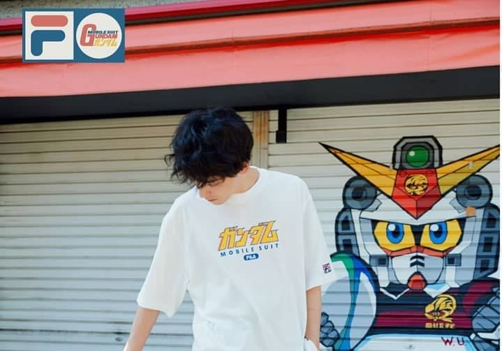 'Mobile Suit Gundam' celebrates its 40th Anniversary with... Fila?