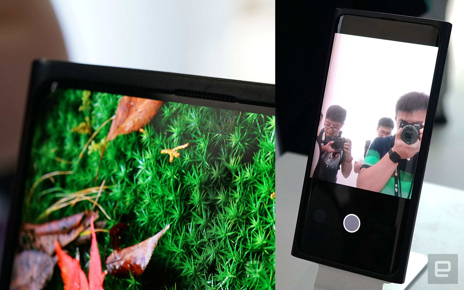 Oppo's under-screen camera is real and taking photos in Shanghai