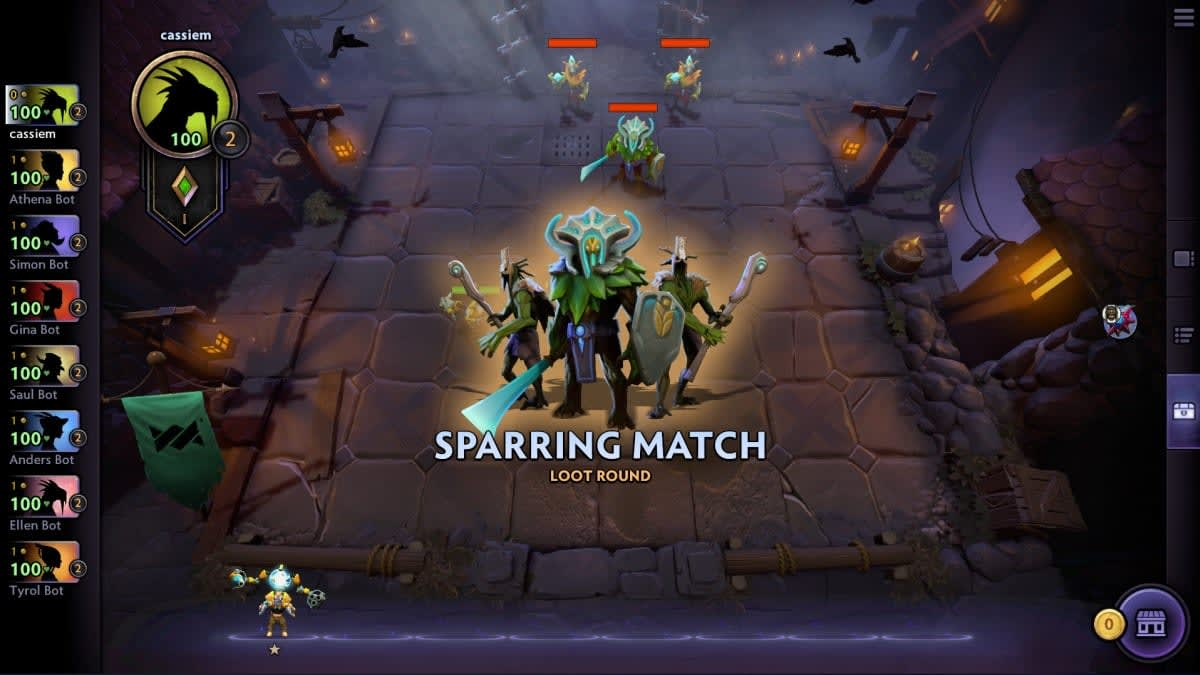 Dota Underlords' has more people playing now than 'Artifact