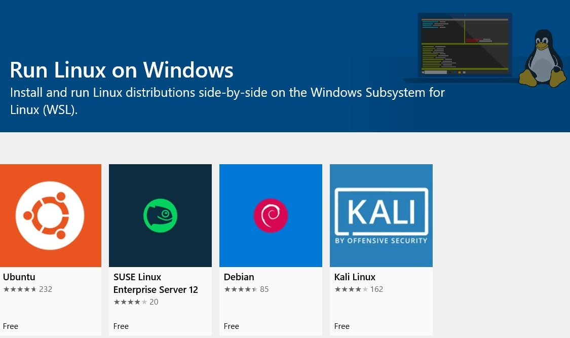 Microsoft's built-in Linux kernel for Windows 10 is ready