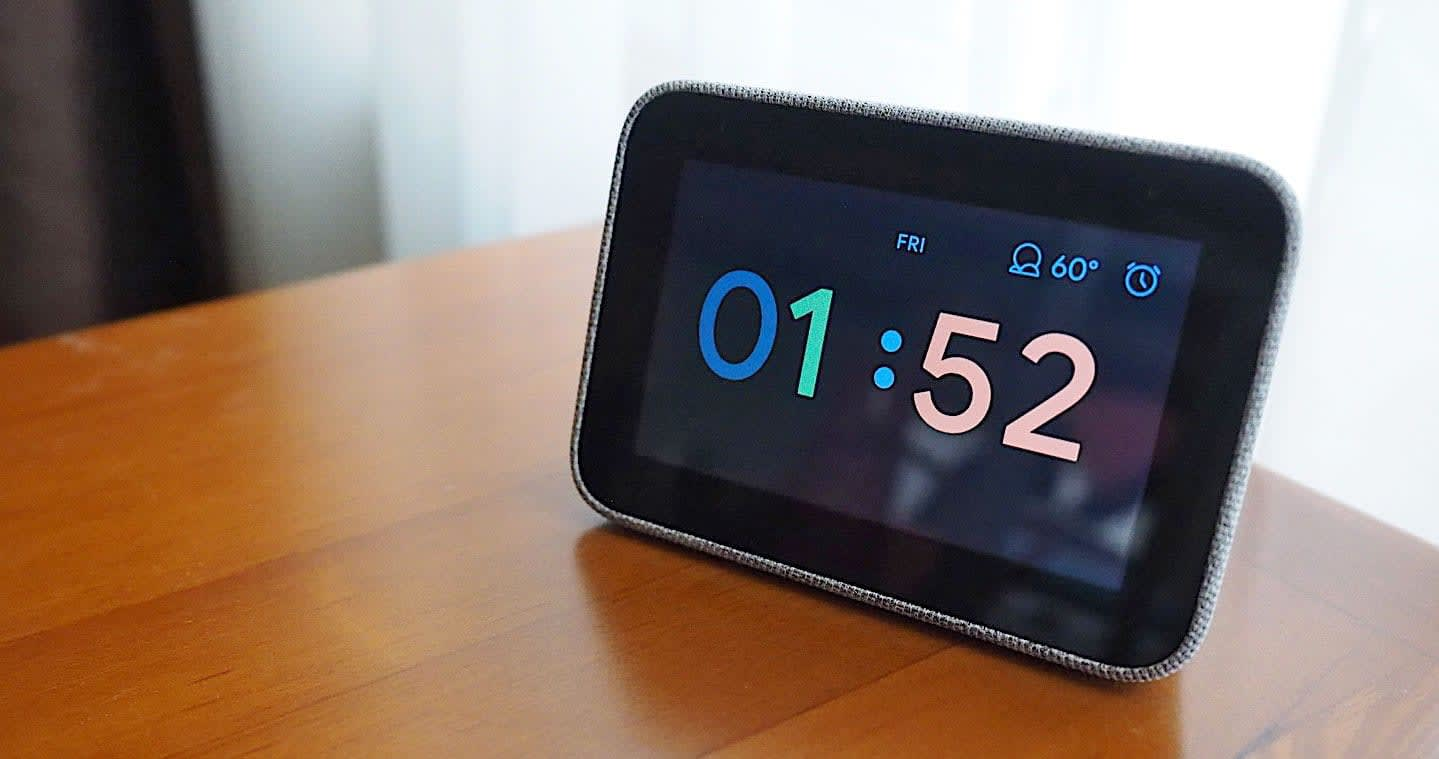 Lenovo Smart Clock review: Sometimes less is more