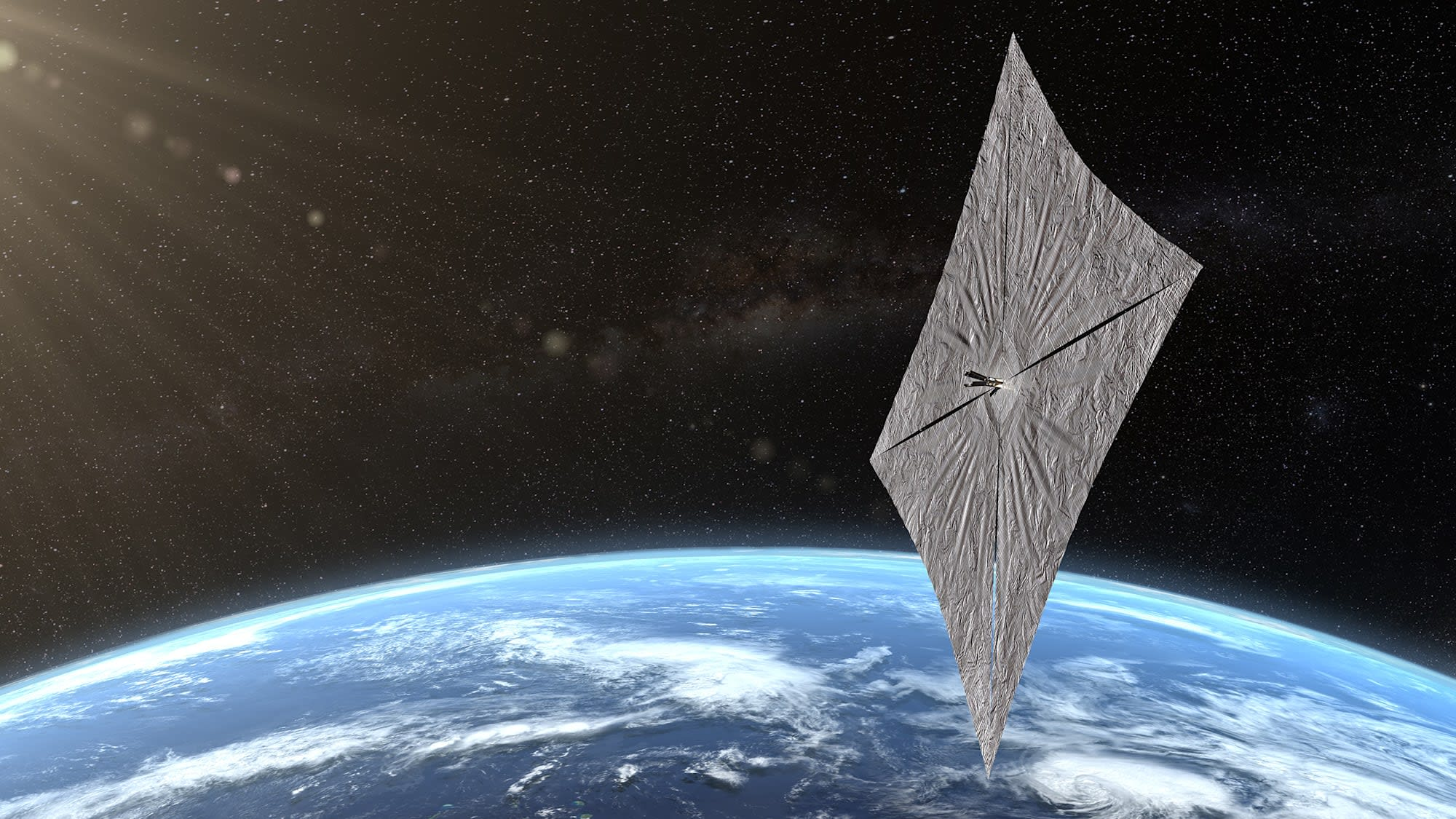 LightSail 2 sends its first signals back to Earth