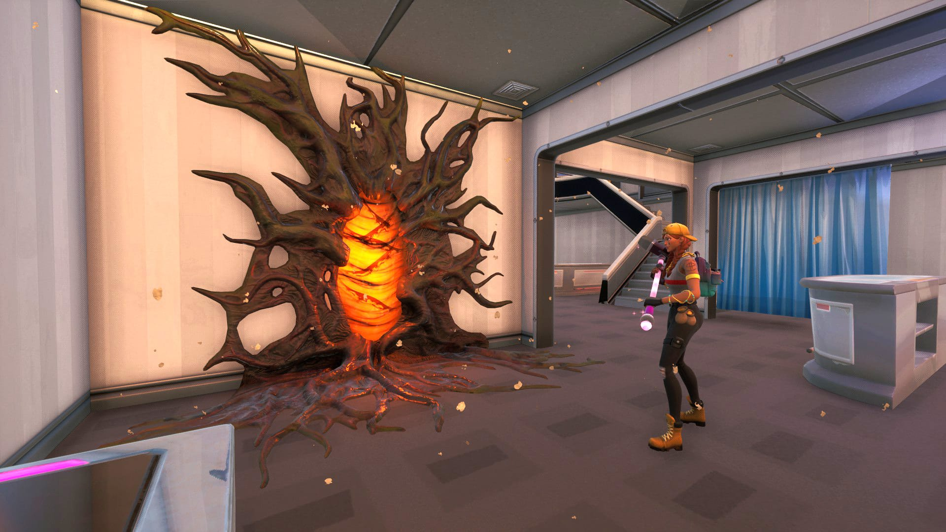 Stranger Things Arrives In Fortnite With Upside Down