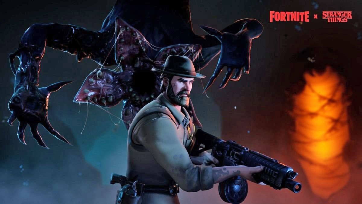 Stranger Things' x 'Fortnite' crossover adds a couple of skins