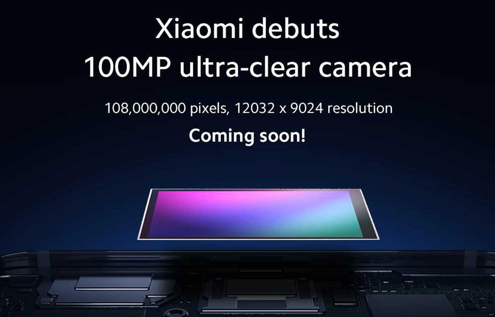 kamera ya simu ya megapixel mp 108 xiaomi