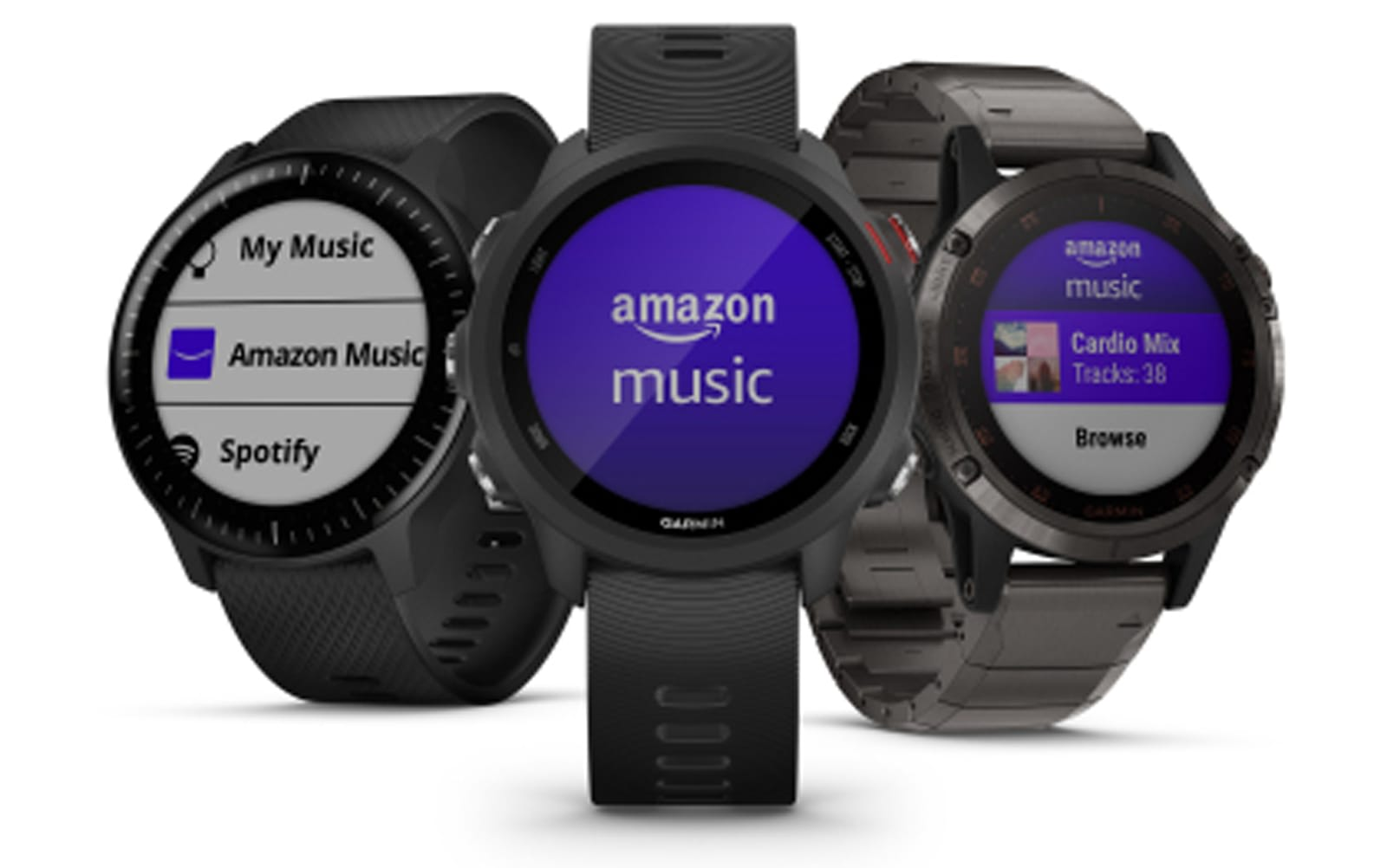 Garmin adds Amazon Music to its fitness watches