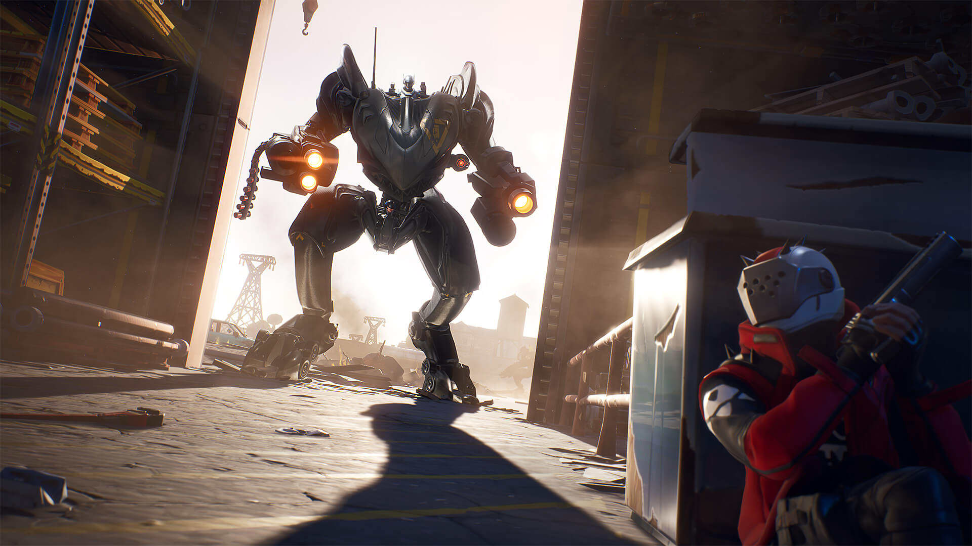 Giant mechs are destroying 'Fortnite'