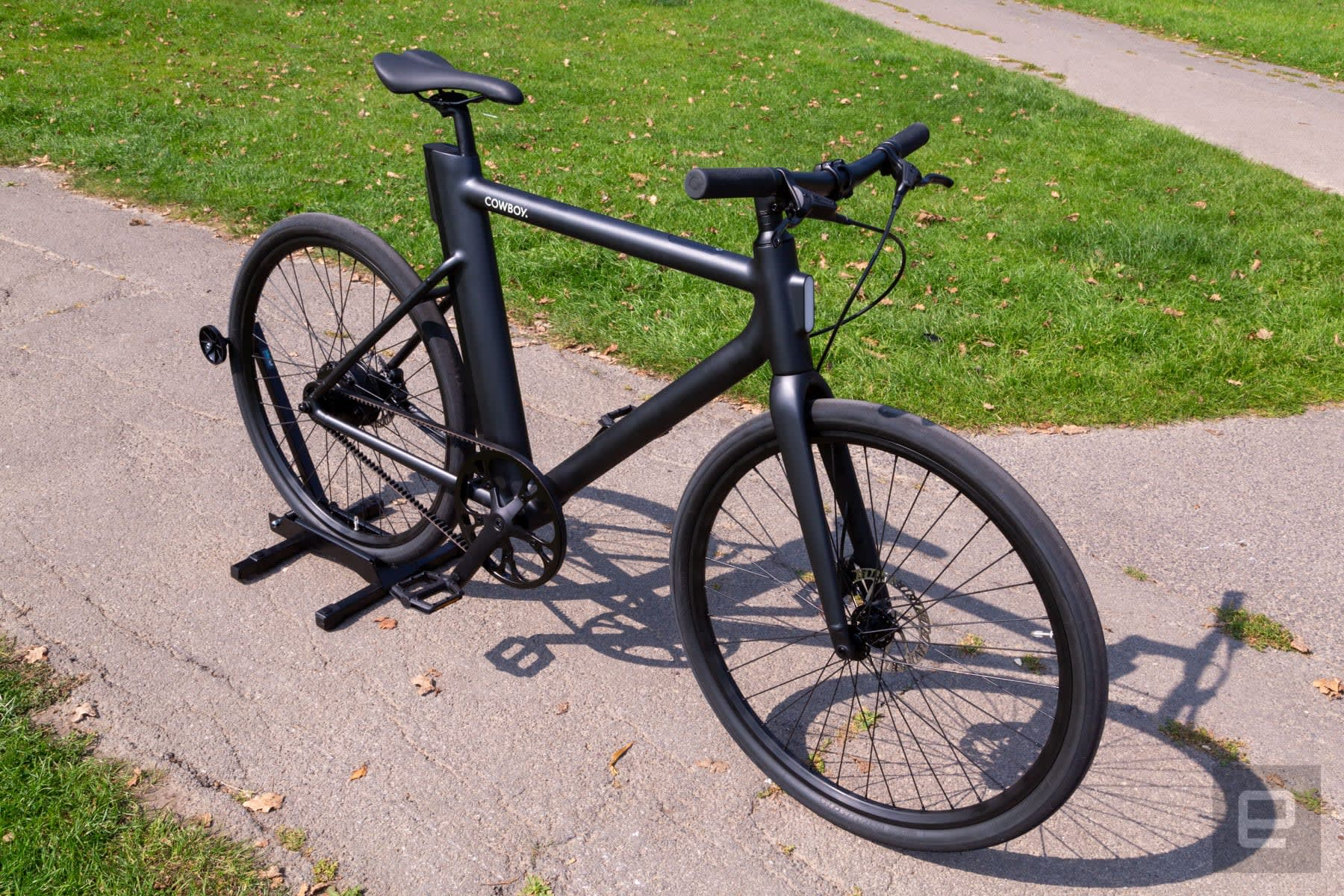 Cowboy's first e-bike solves the removable battery problem