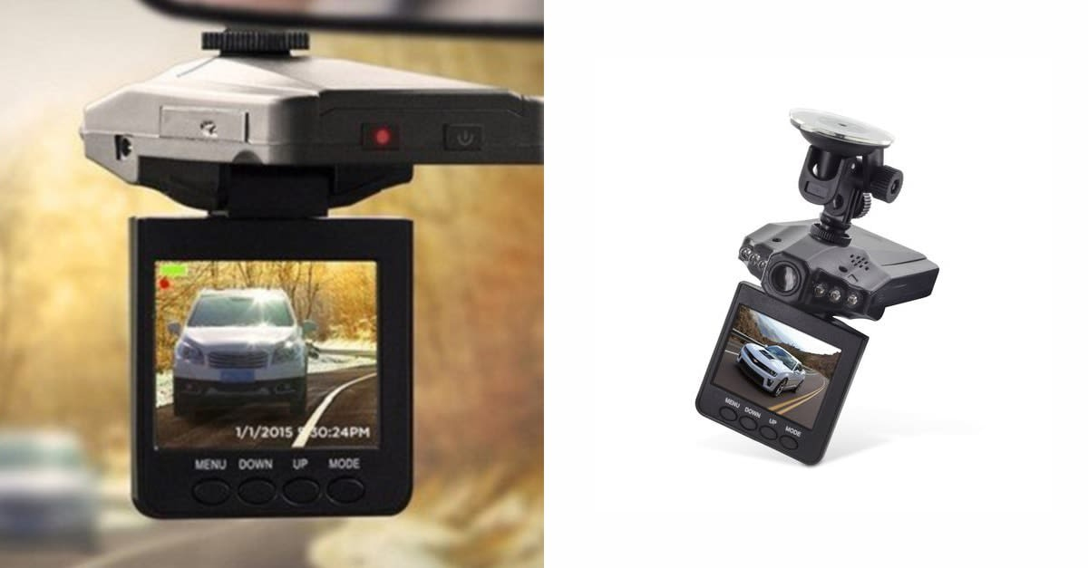 You can get this HD dash cam for only $20 today