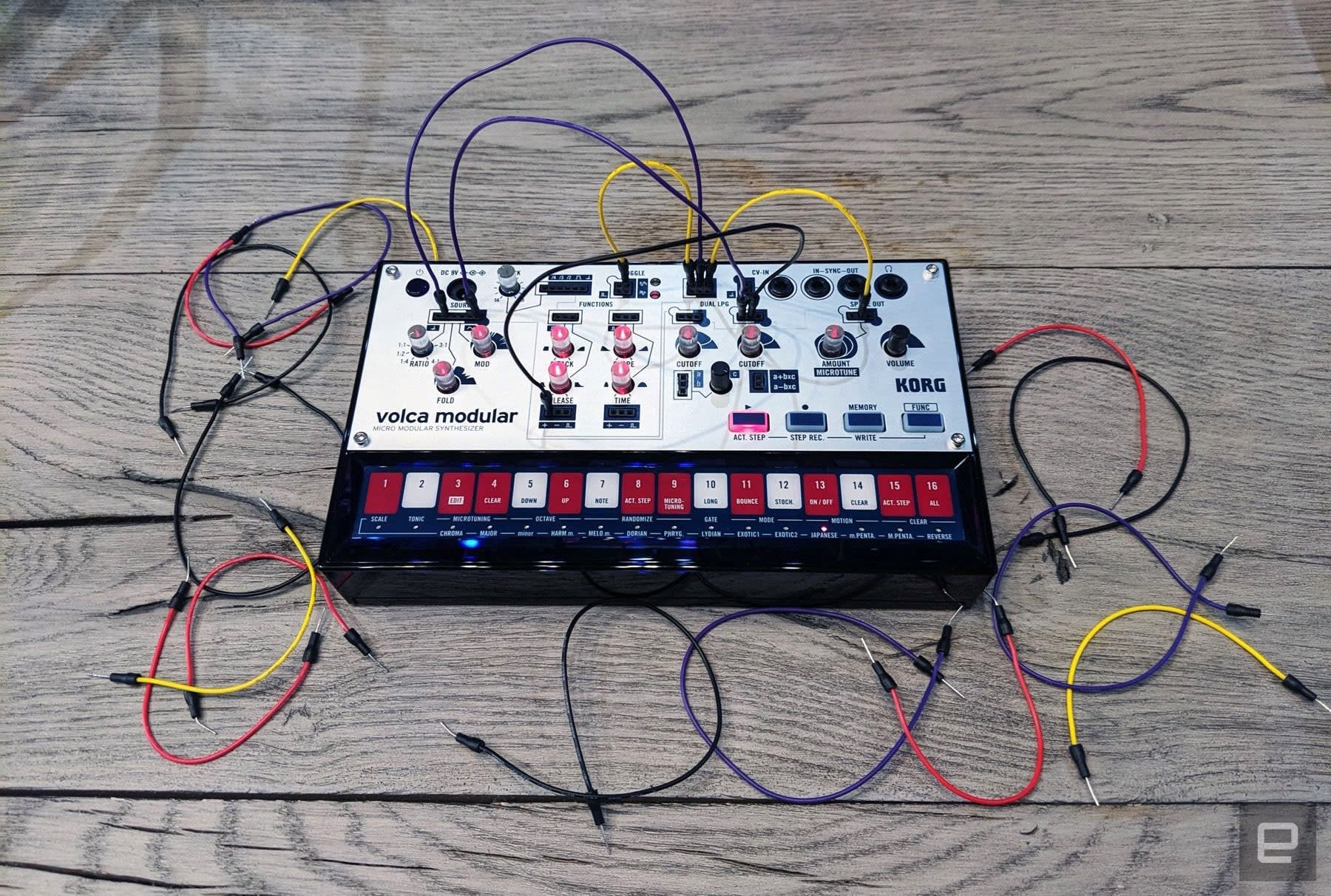 korg volca modular synth review as weird as it is affordable. Black Bedroom Furniture Sets. Home Design Ideas