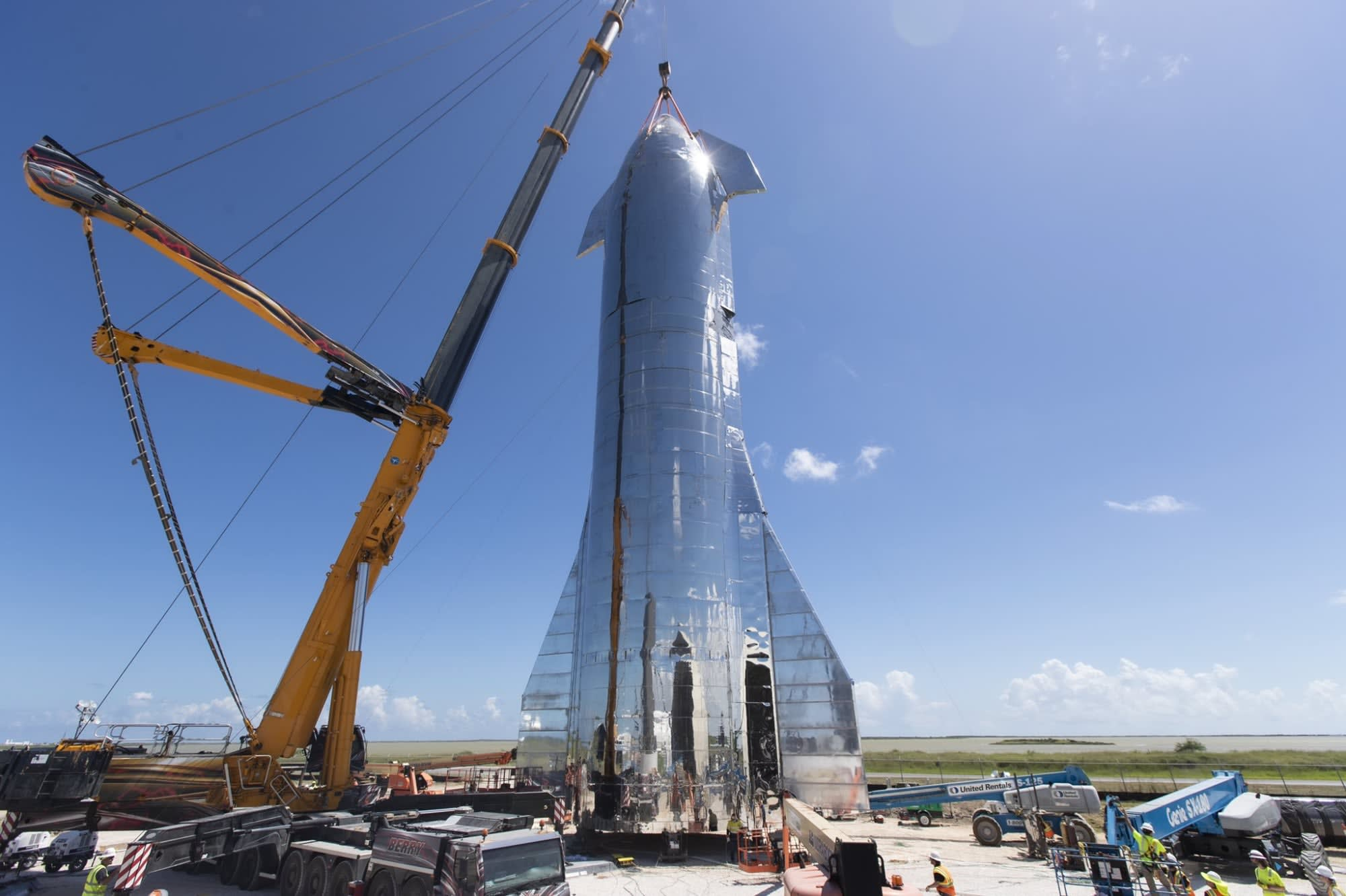 SpaceX begins construction of its next-generation Starship rockets