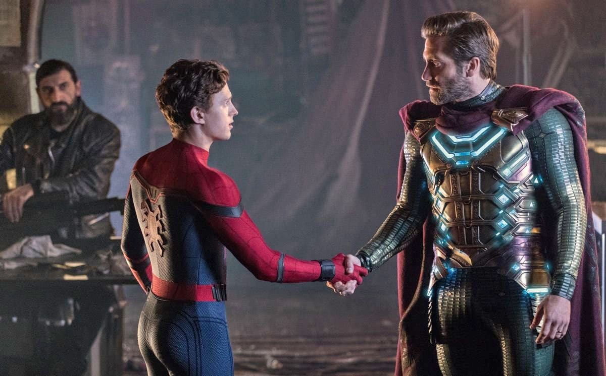 Image result for spider0man far from home""