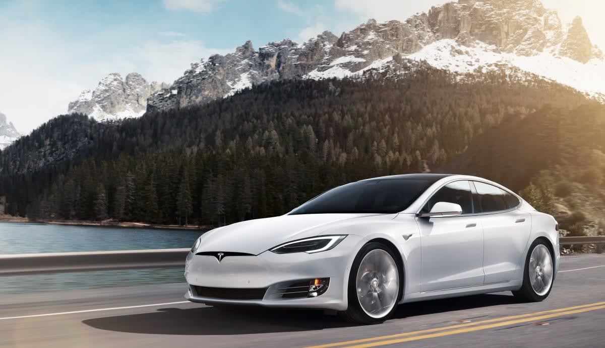 Elon Musk says the Tesla Model S just set a new track speed