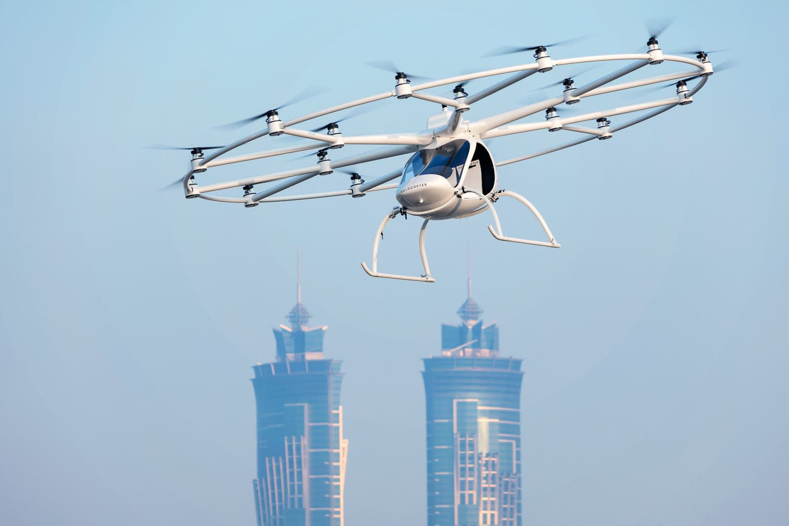 Daimler and Geely back Volocopter to help launch its flying taxi service